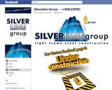 Silverline Group Page by RedHot Design