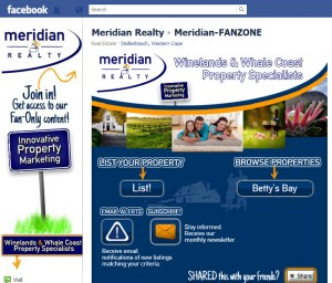 Meridian-Realty Facebook Fan page by RedHot Design