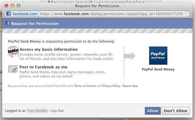 Send Money Paypal screenshot